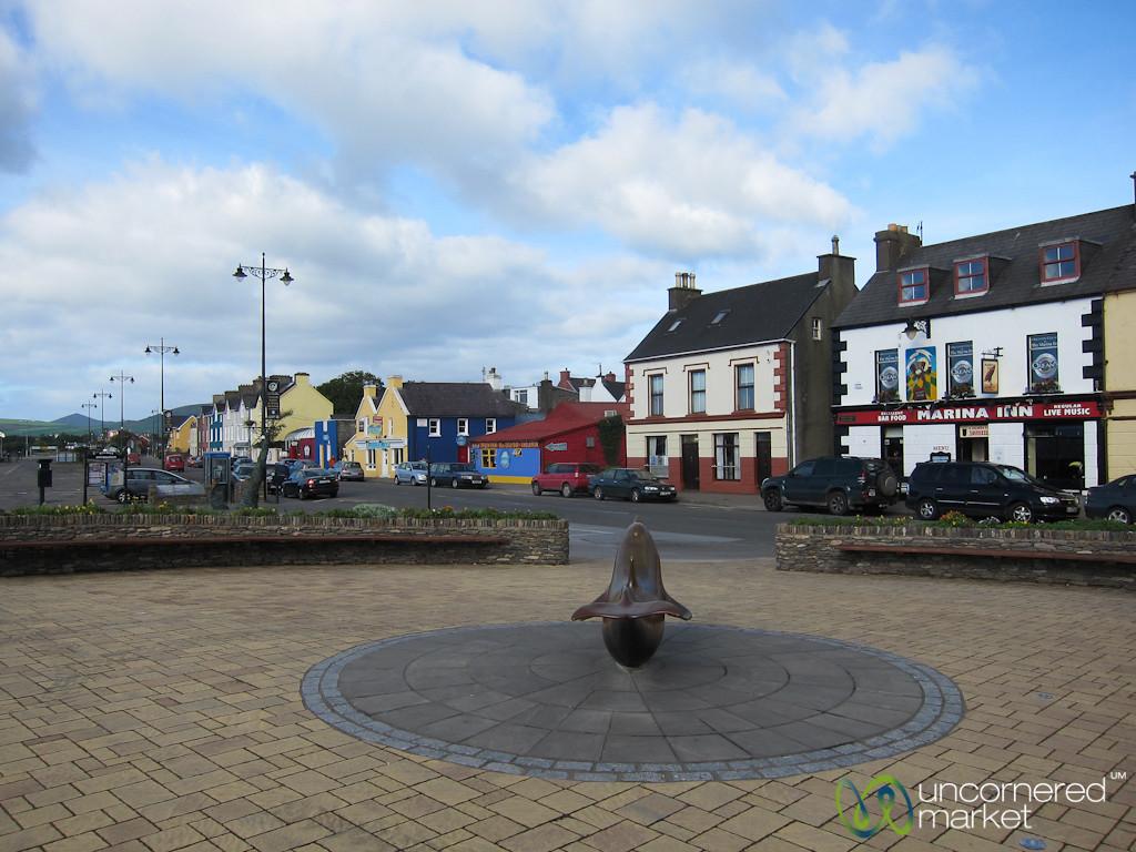 Dingle Town, Marina Square - County Kerry, Ireland