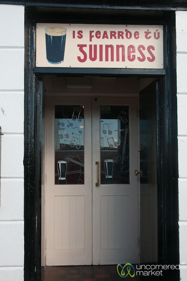 Irish Pub Door - Dingle, Ireland