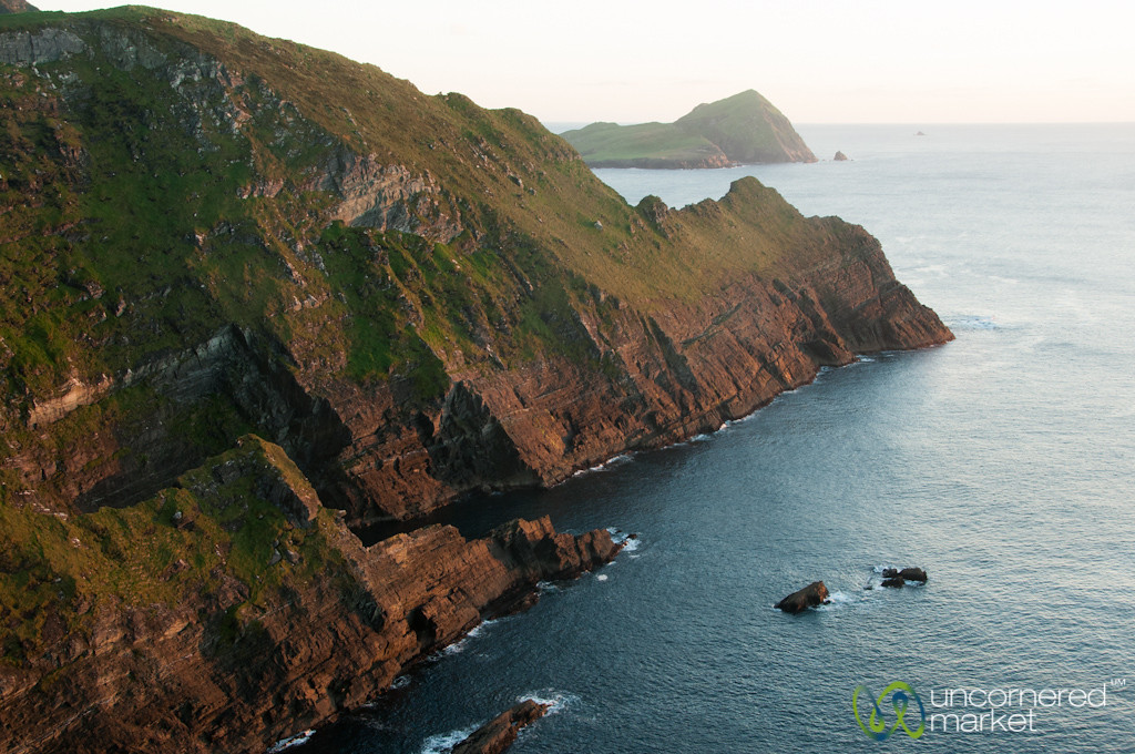 Cliffs of Kerry at Sunset - County Kerry, Ireland
