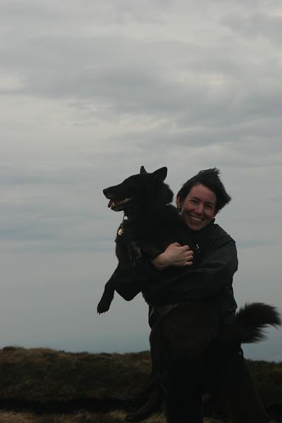 Paula and Coco, Wicklow Ireland - 2007