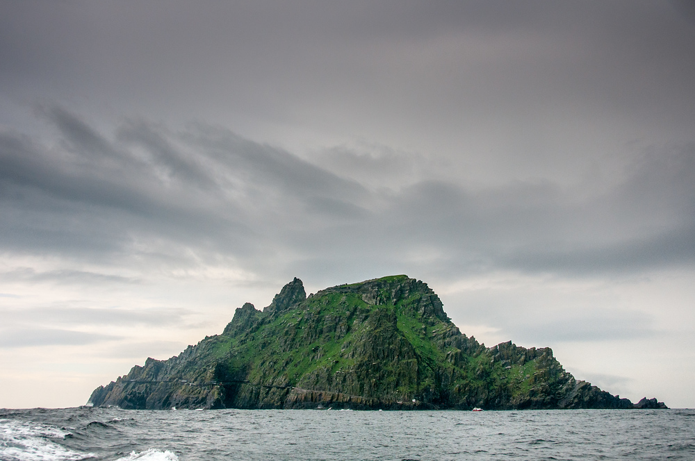 The Island of Skellig Michael, Ireland