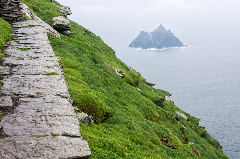 Little Skellig Island as Seen From Skellig Michael Island, Ireland