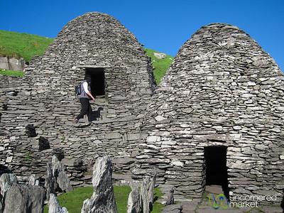 Beehive Medieval Monastic Settlement - Skellig Michael, Ireland