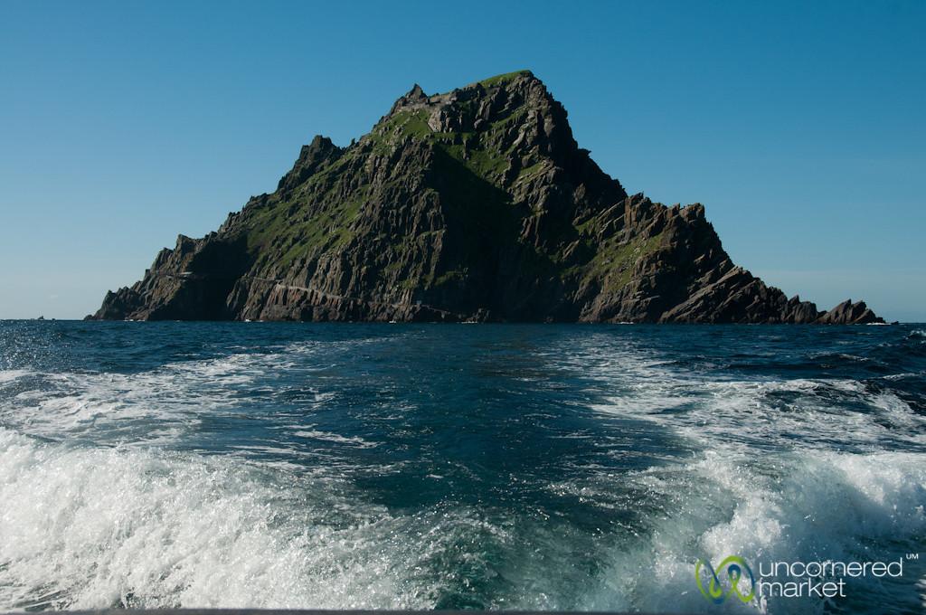 Leaving Skellig Michael - Ireland