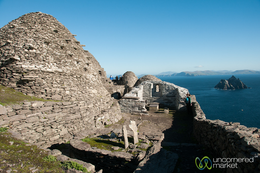 Monastic Settlement at Skellig Michael - Ireland