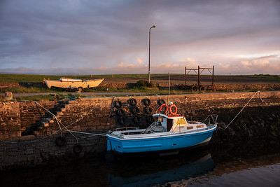 blue boat Ballymulderry