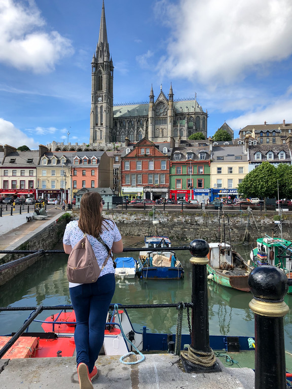 Amanda in Cobh, Ireland