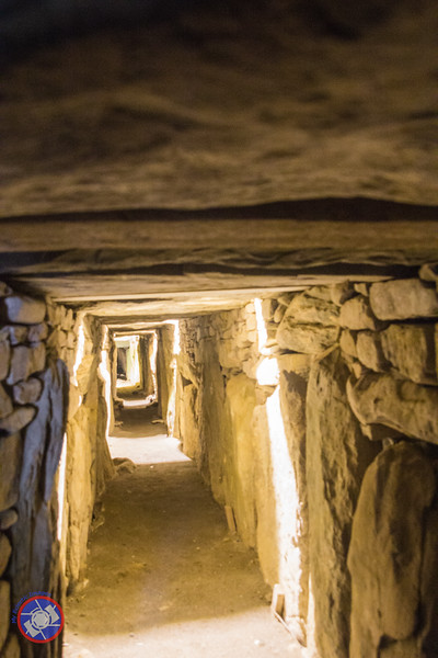 One of the Passages Running through the Large Mound at Knowth (©simon@myeclecticimages.com)