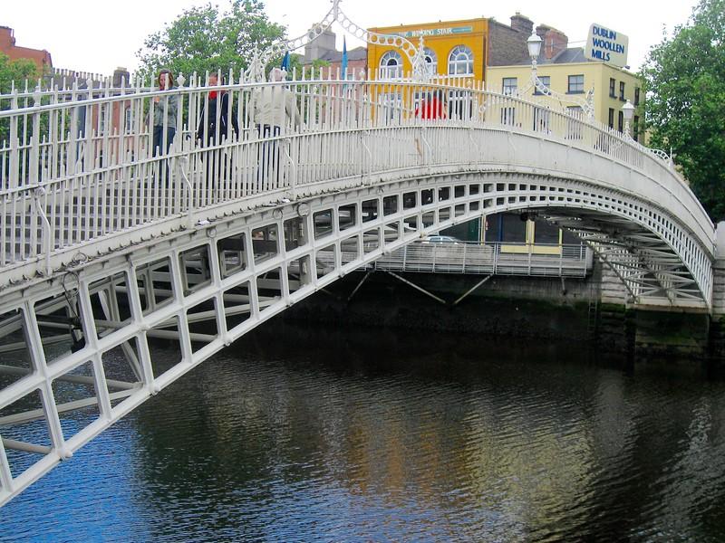 One of several Dublin bridges