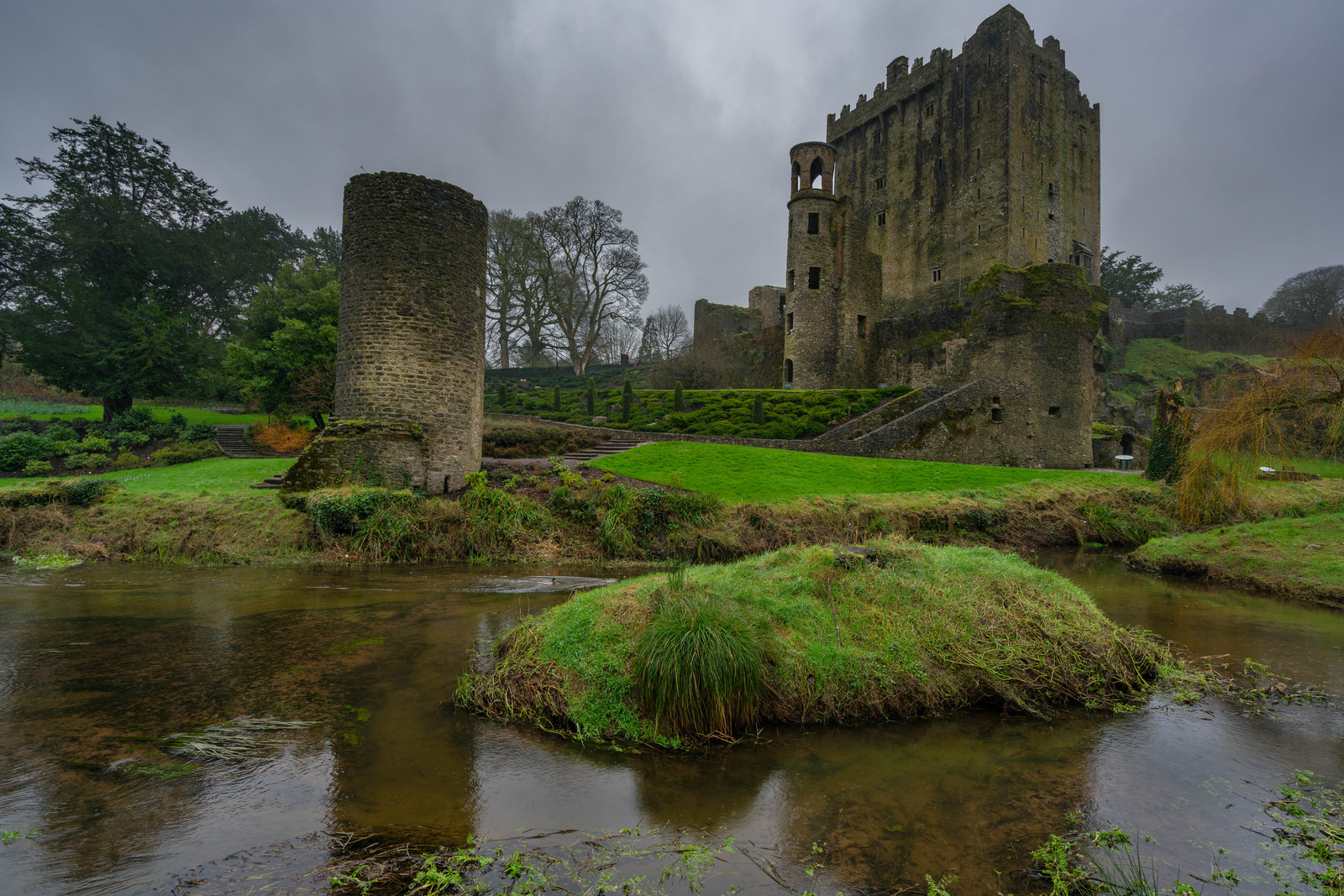 The Blarney Castle in Ireland