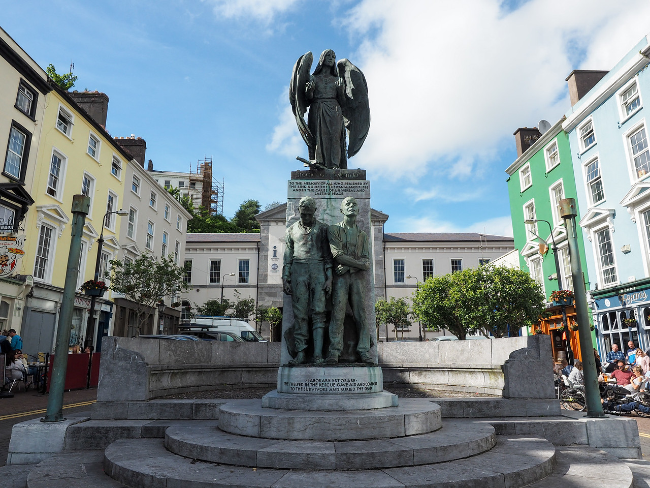 Lusitania Memorial in Cobh