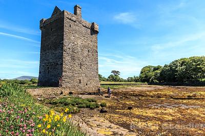 Rockfleet Castle, County Mayo, Ireland