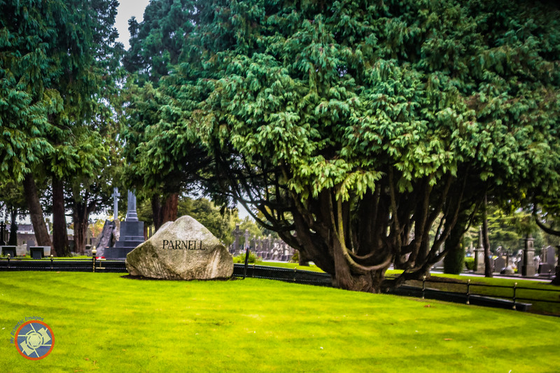 Grave Site for Charles Stewart Parnell in Glasnevin Cemetery (©simon@myeclecticimages.com)