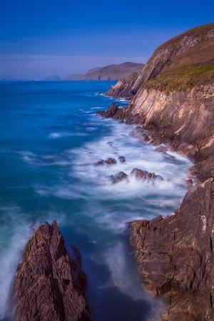 Coumeenoole Beach on the Slea Head Drive in Kerry, Ireland