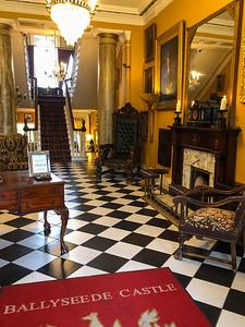 Ballyseede Castle entryway