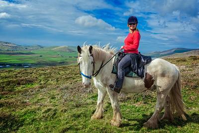Horseback Riding on the Dingle Peninsula on the Wild Atlantic Way.