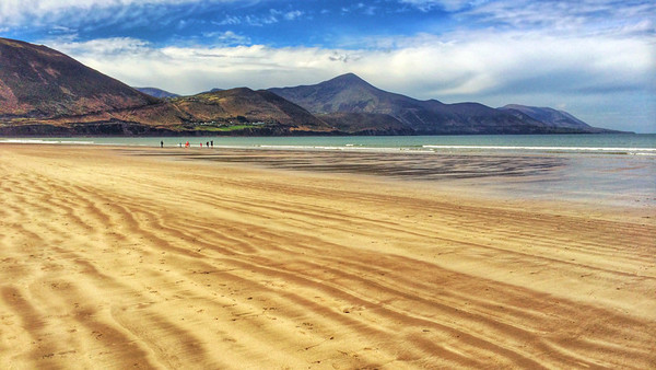 The Beautiful Rossbleigh Beach.