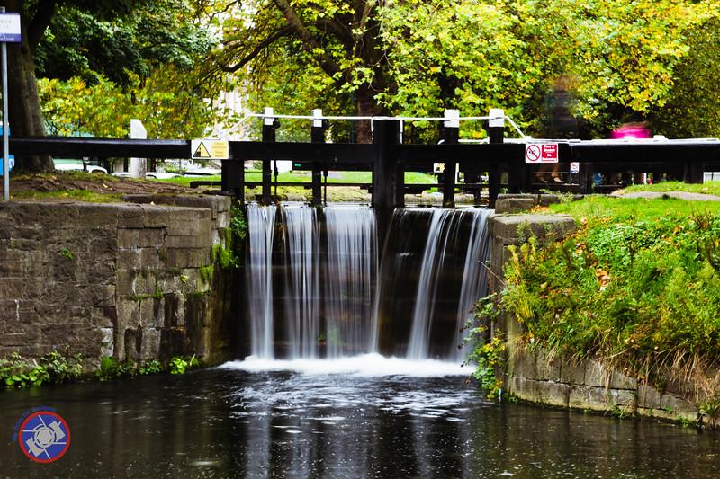 Lock Four on the Grand Canal, Dublin