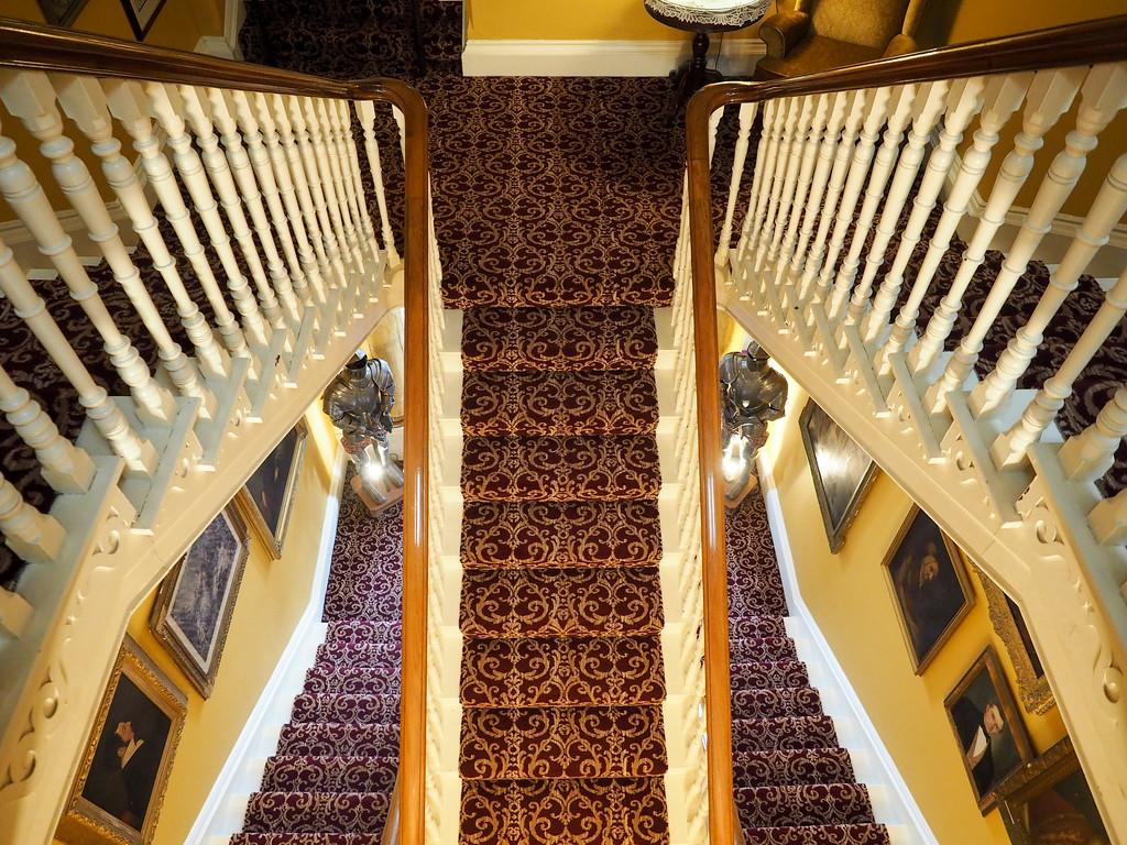 Inside Ballyseede Castle Hotel