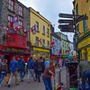The streets of Galway