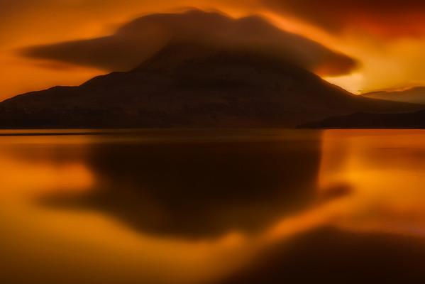 Sunrise at Mount Errigal