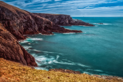 The View from Mizen Head in Co. Cork, Ireland
