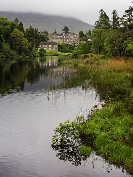 Ballynahinch Castle where we stayed one night