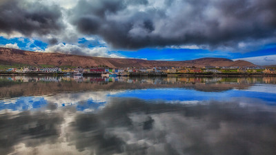 A Reflection of Port Magee in Ireland