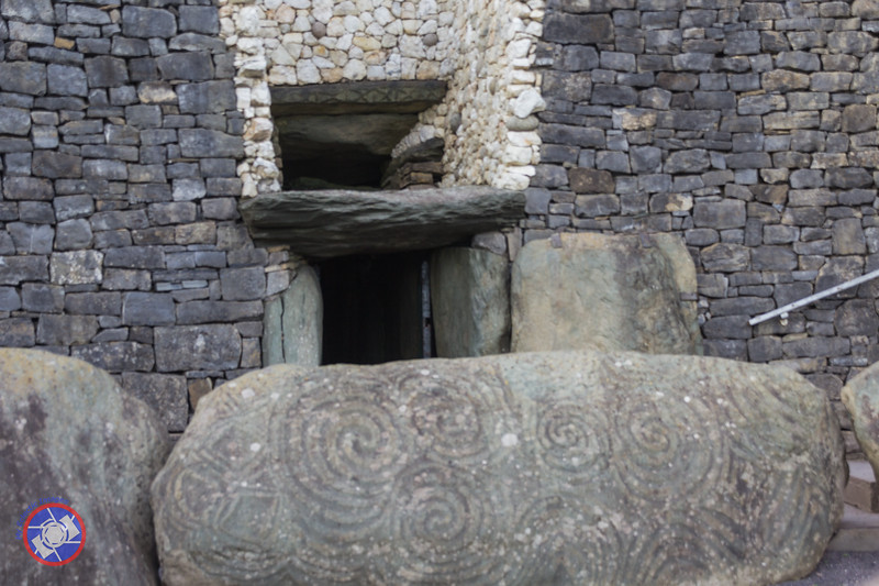 Entrance to the Mound at Newgrange Showing the Roof Box (©simon@myeclecticimages.com)