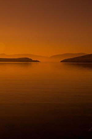 Sunrise over the Dingle Peninsula on the Wild Atlantic Way