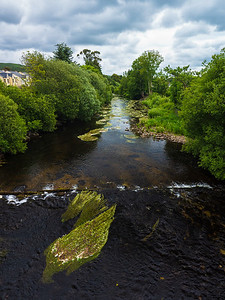 Aughrim river seen from Aughrim Bridge