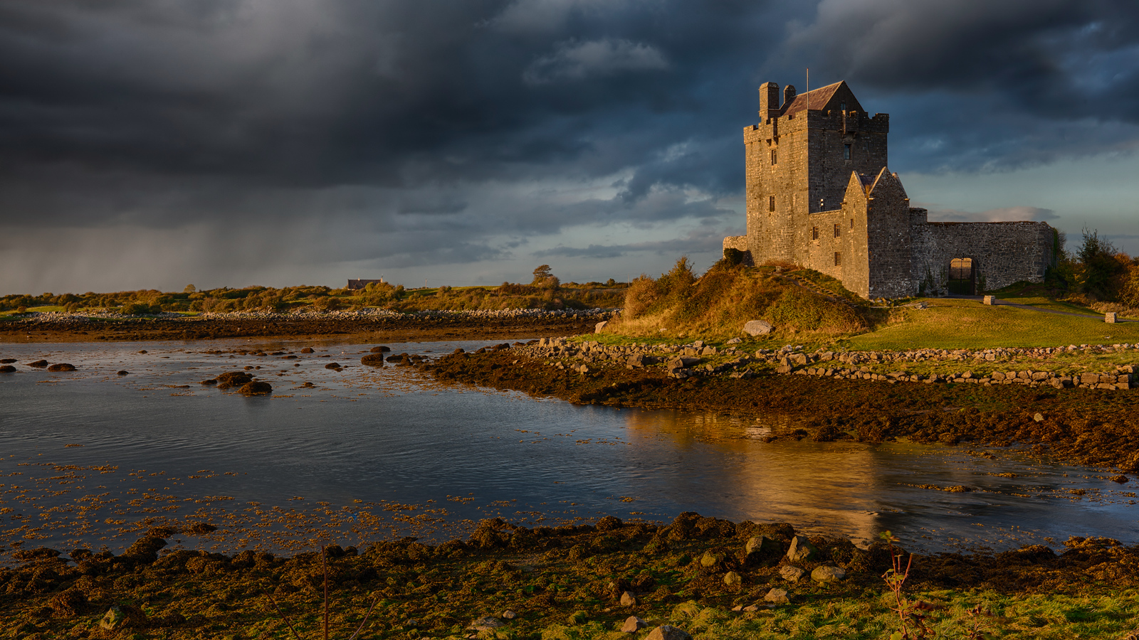 The most photographed castle in Ireland: Dunguaire Castle