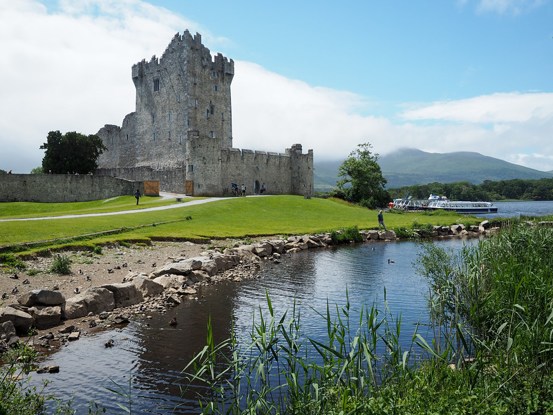 Ross Castle in Ireland