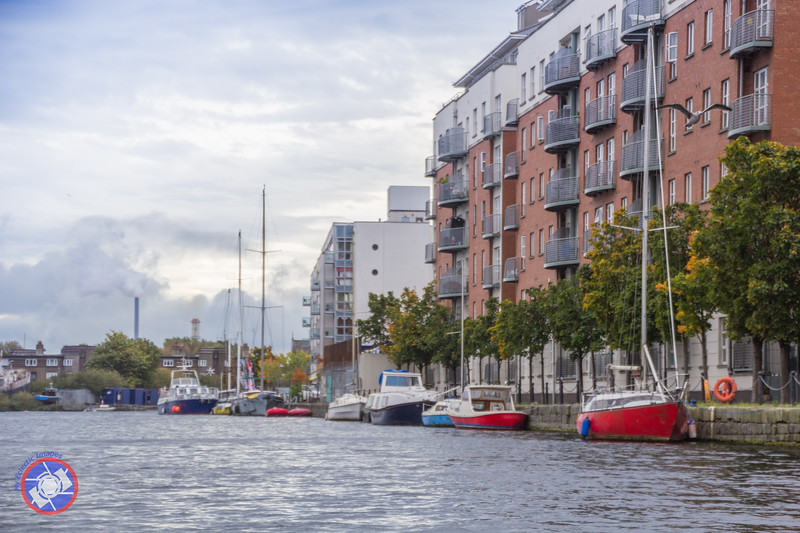 Buildings Lining the Waterfront of the Grand Canal and Seen from the Viking Splash DUKW (©simon@myeclecticimages.com)