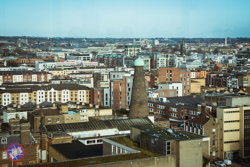 A View from the Gravity Bar at the Guinness Storehouse (©simon@myeclecticimages.com)