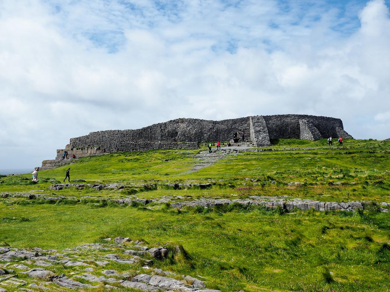 Dún Aonghasa in the Aran Islands