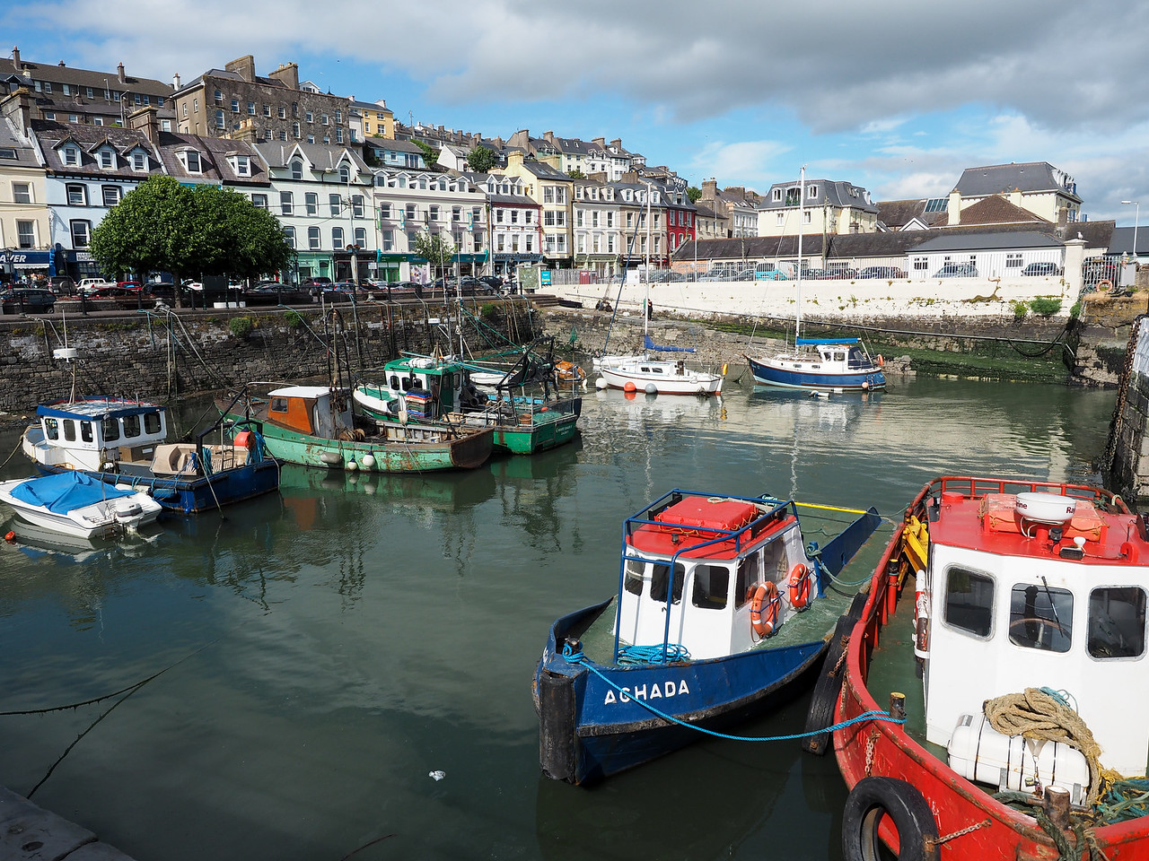 Cobh fishing harbor