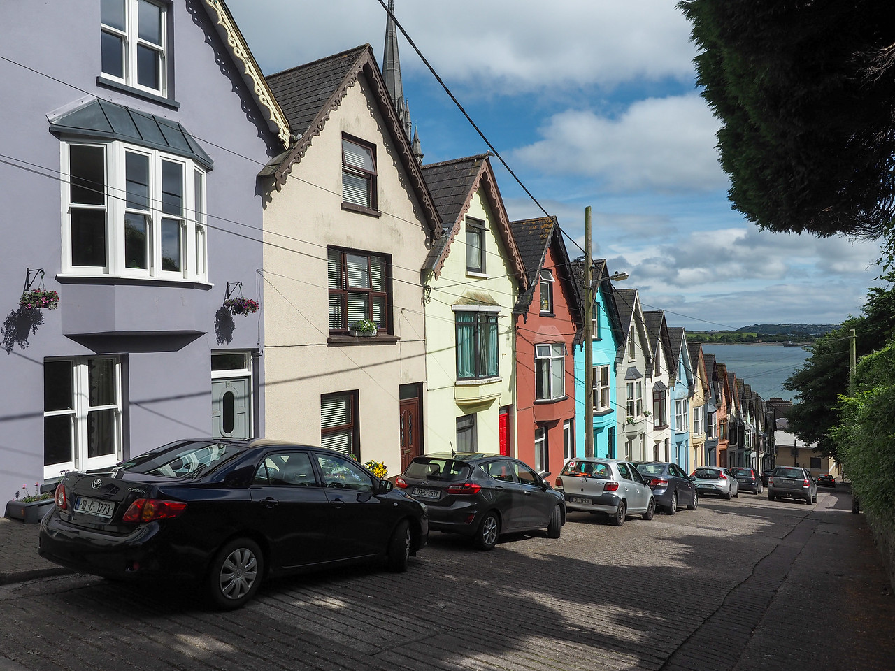 West View road in Cobh