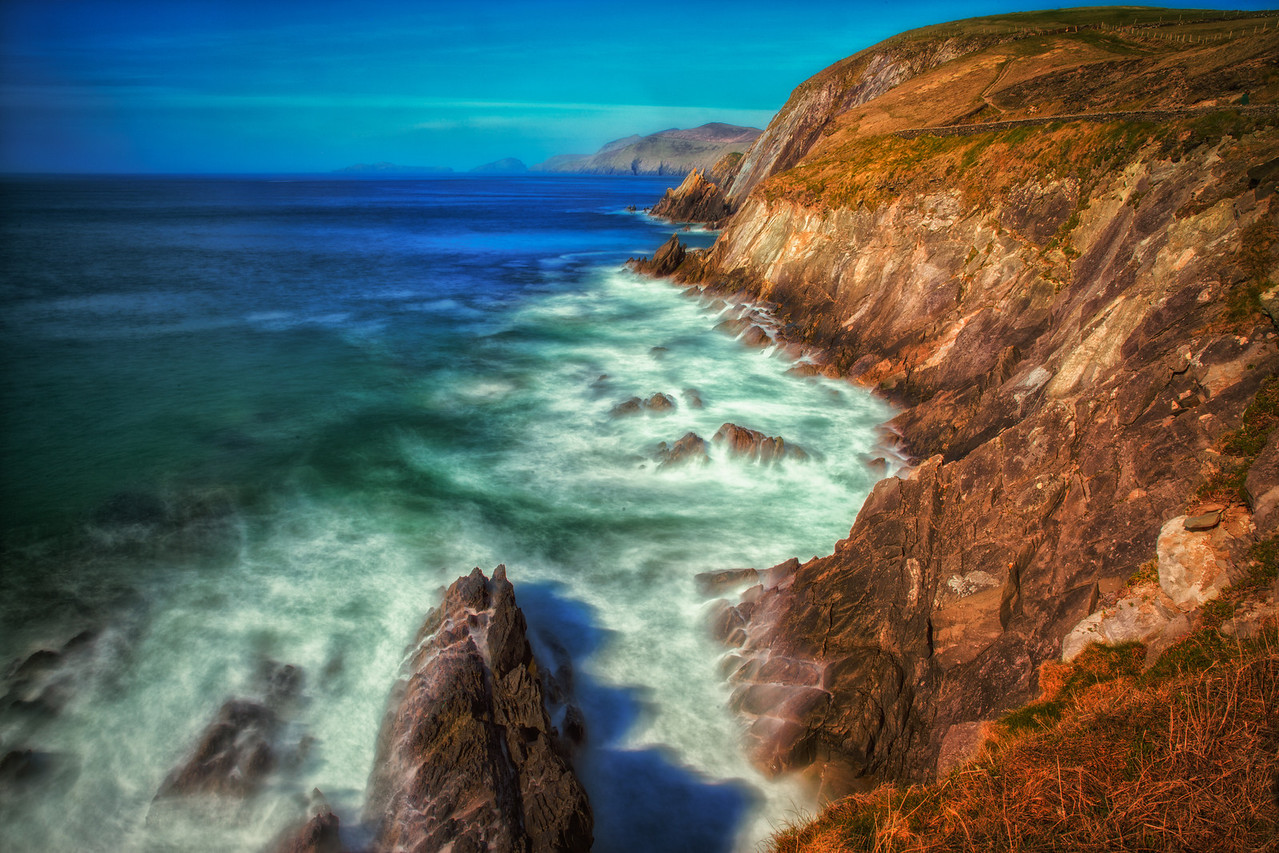 The rugged coastline is never ending on the Wild Atlantic Way.