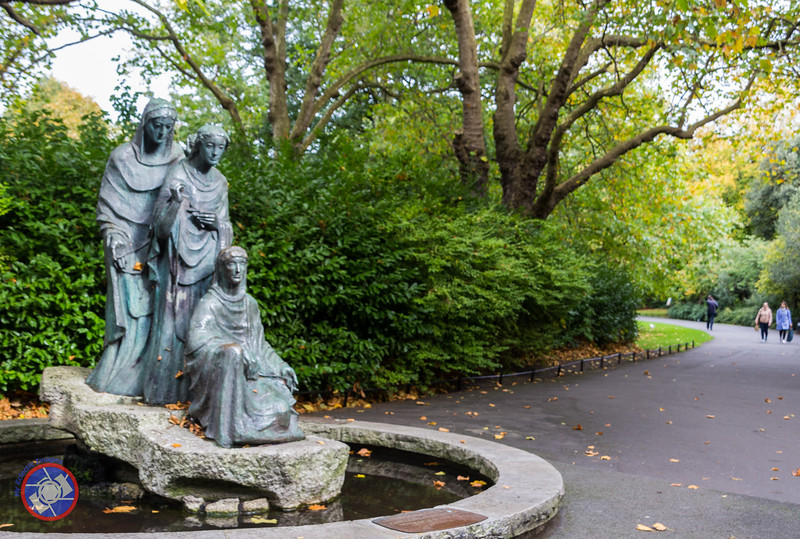 Statue within the grounds of St. Stephen's Green #failteireland  #visitdublin #tbexireland #lovedublin #visitireland #travelphotgraphy #boomertravel #sixlegswilltravel