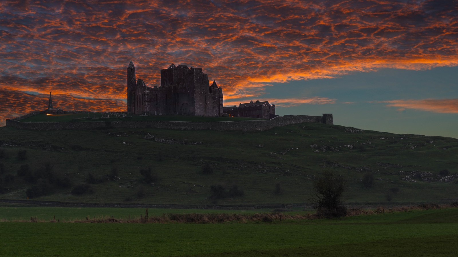 The Rock of Cashel in Ireland