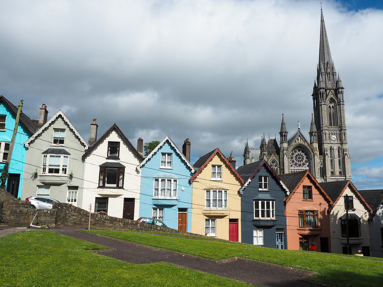 Deck of Cards houses in Cobh