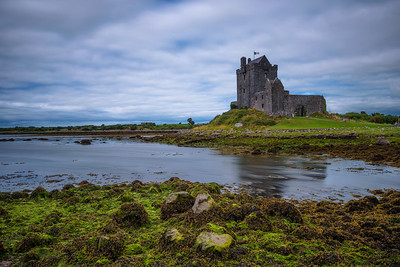 Dunguaire Castle in County Galway near Kinvarra, Ireland