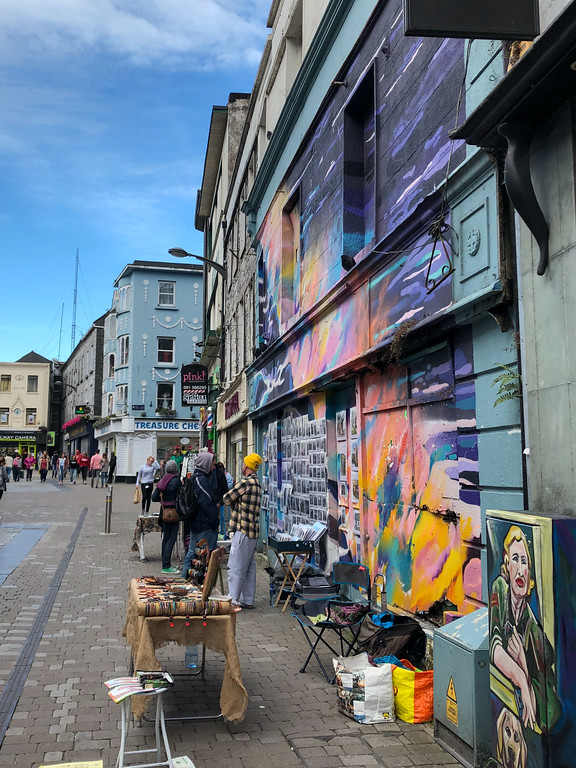 Street art in Galway, Ireland