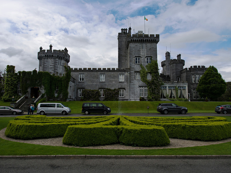 Dromoland Castle, where we stayed the last night