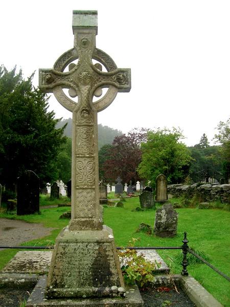 Glendalough Monastery Cemetery