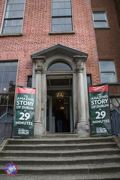 The Entrance to the Little Museum in Dublin (©simon@myeclecticimages.com)
