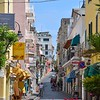 The streets of Ischia Porto