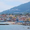 One of Ischia's main beach resort areas, Ischia Ponte