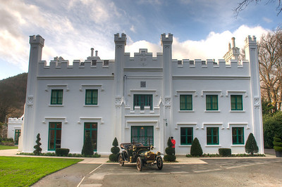 The historic Milntown House and Gardens in Ramsey, Isle of Man